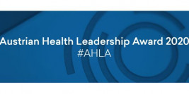 Austrian Health Leadership Award 2020